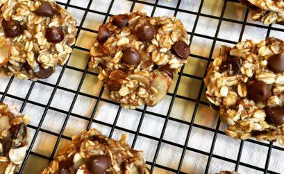 Healthy Breakfast Oatmeal Cookies