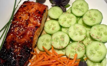 ingredient Ponzu broiled salmon
