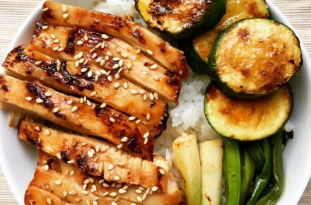 Ingredient Ponzu grilled chicken