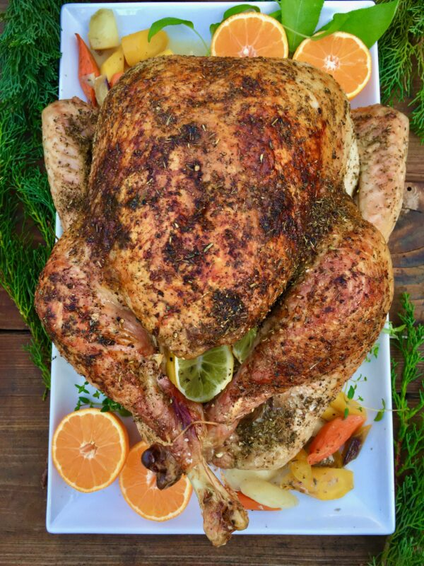 Herb Roasted Turkey for the Holidays